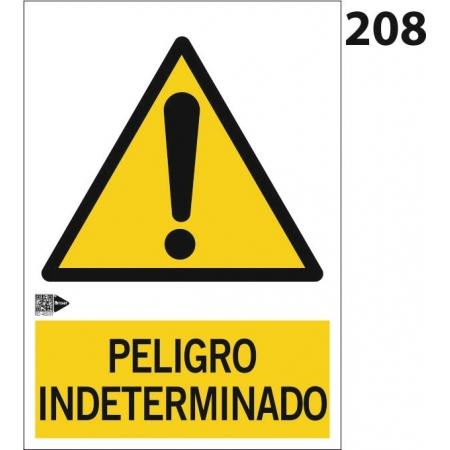 Señal de peligro indeterminado